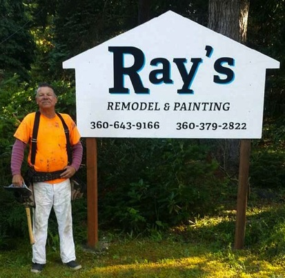 Ray's Remodel and Painting Sign